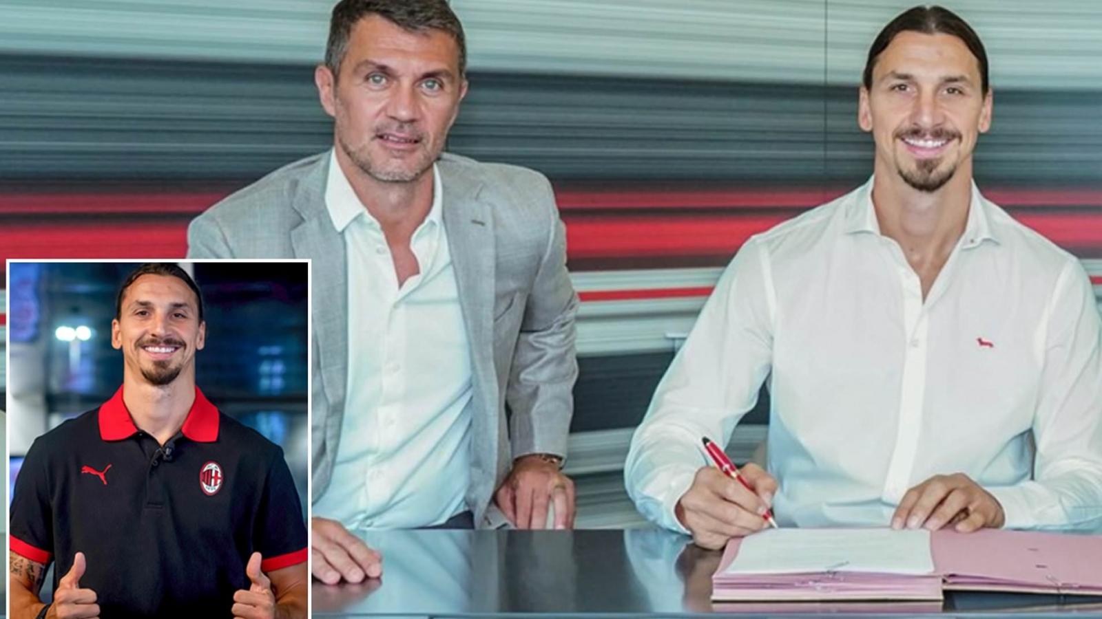 Chuyển nhượng ngày 1/9: Ibrahimovic chính thức ký hợp đồng mới với AC Milan