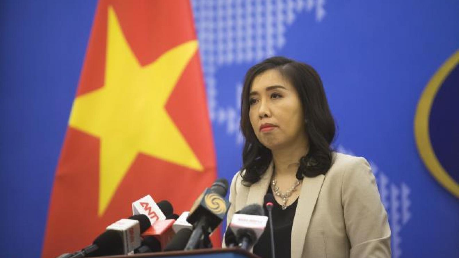 Bộ Ngoại giao thông tin việc ĐSQ Mỹ đăng bản đồ Việt Nam không có Hoàng Sa, Trường Sa