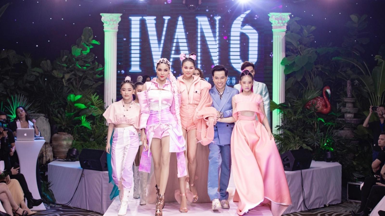 Thanh Hằng, Lan Khuê đọ nhan sắc và đẳng cấp trong show của Ivan Trần