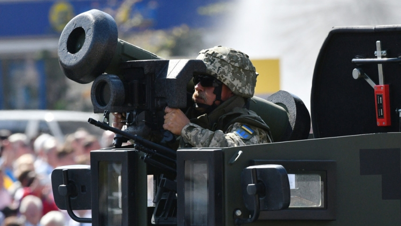 Tên lửa Javelin không hoạt động trong cuộc tập trận quân sự ở Ukraine