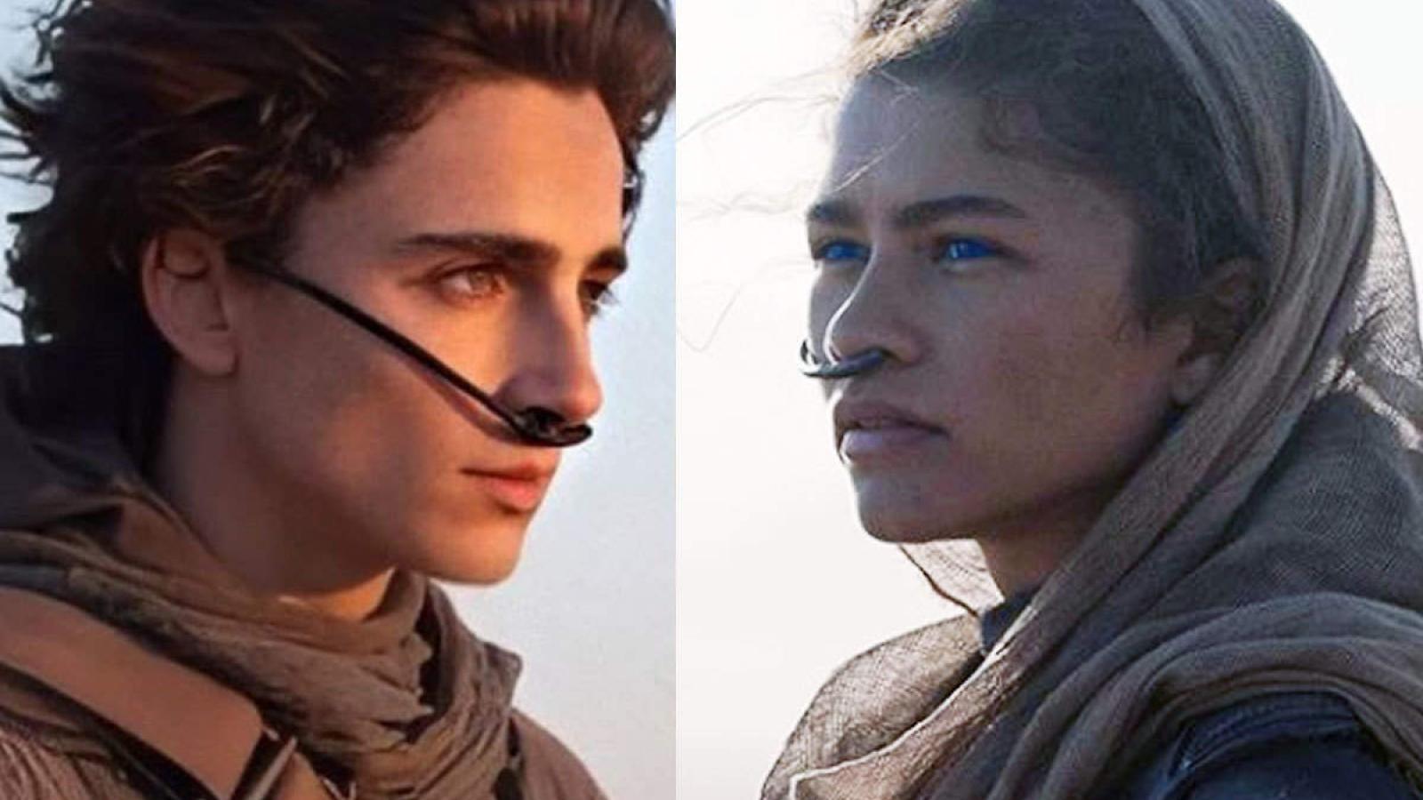"""Mỹ nam Timothée Chalamet """"khoá môi"""" bạn gái Spider-man trong trailer bom tấn """"Dune"""""""