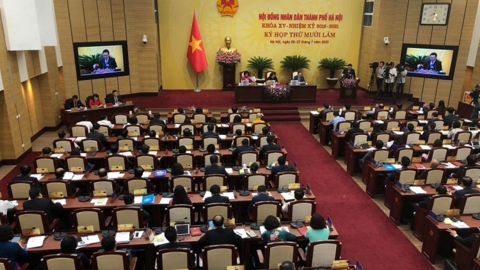 Ngàymai (10/11),HĐND TP Hà Nội tổ chức kỳ họp chuyên đề