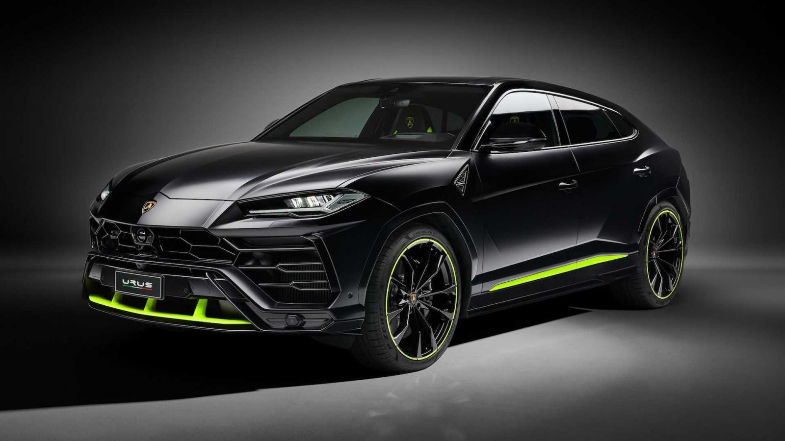 Lamborghini giới thiệu bộ phối màu Graphite Capsule cho SUV Urus