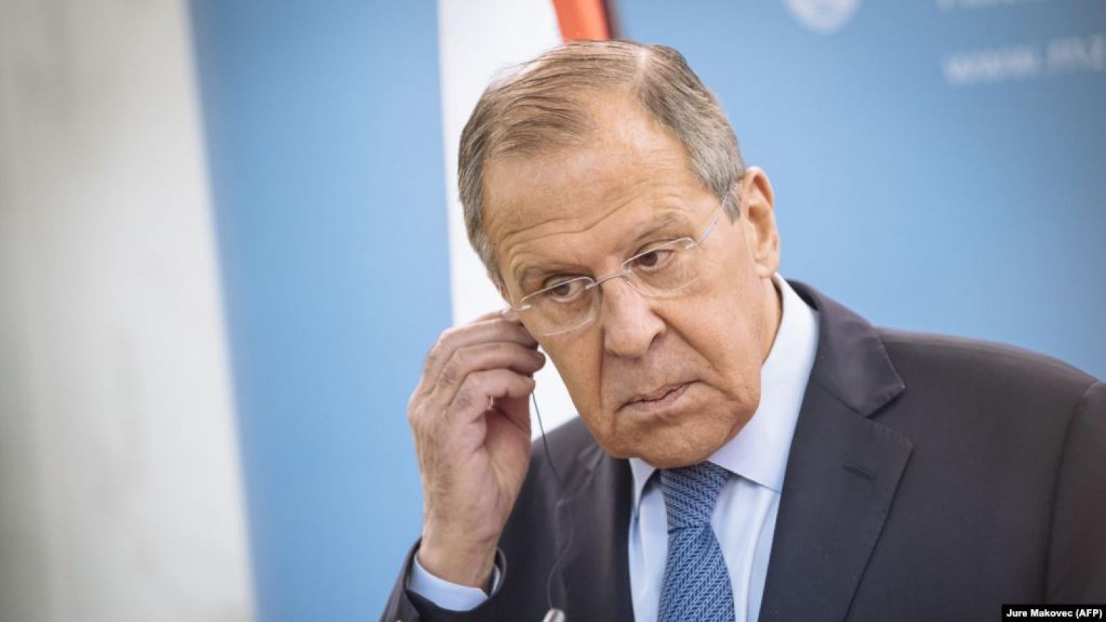 """Nga sẽ """"không làm ngơ"""" trước các biện pháp trừng phạt của phương Tây"""