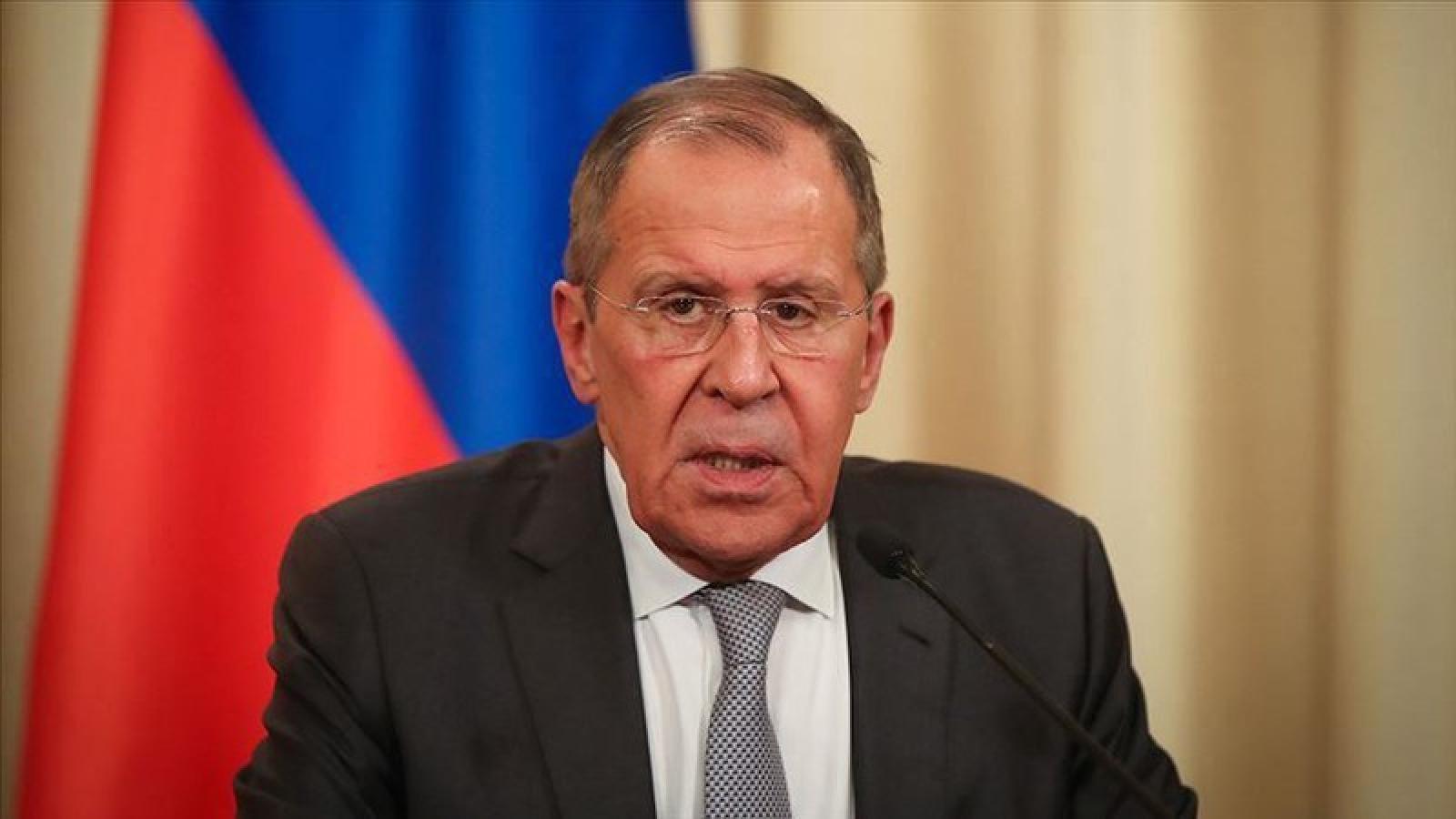 Nga lên án các thế lực bên ngoài can thiệp vào Belarus