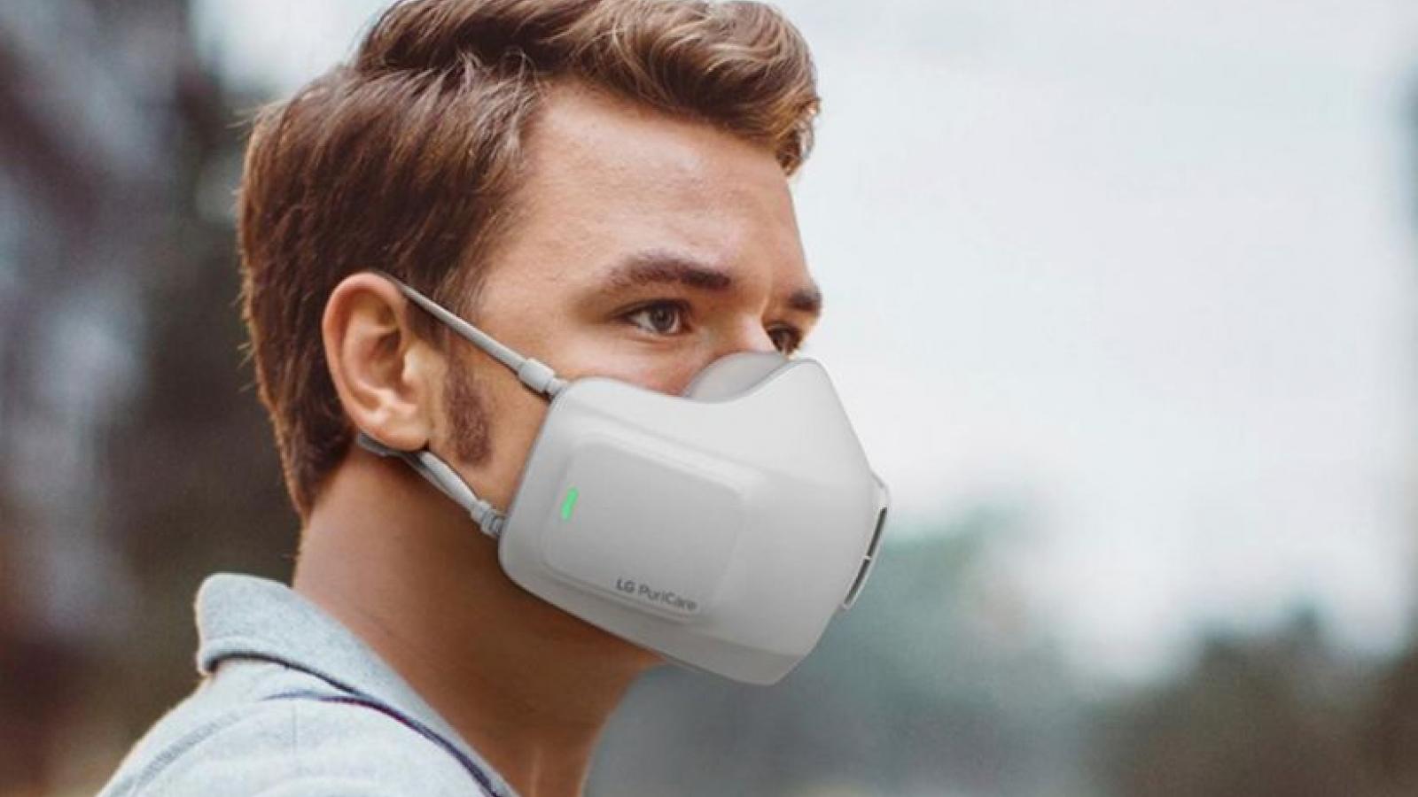 Hàn Quốc phát minh ra khẩu trang điện tử giúp dễ thở và chống làm mờ kính