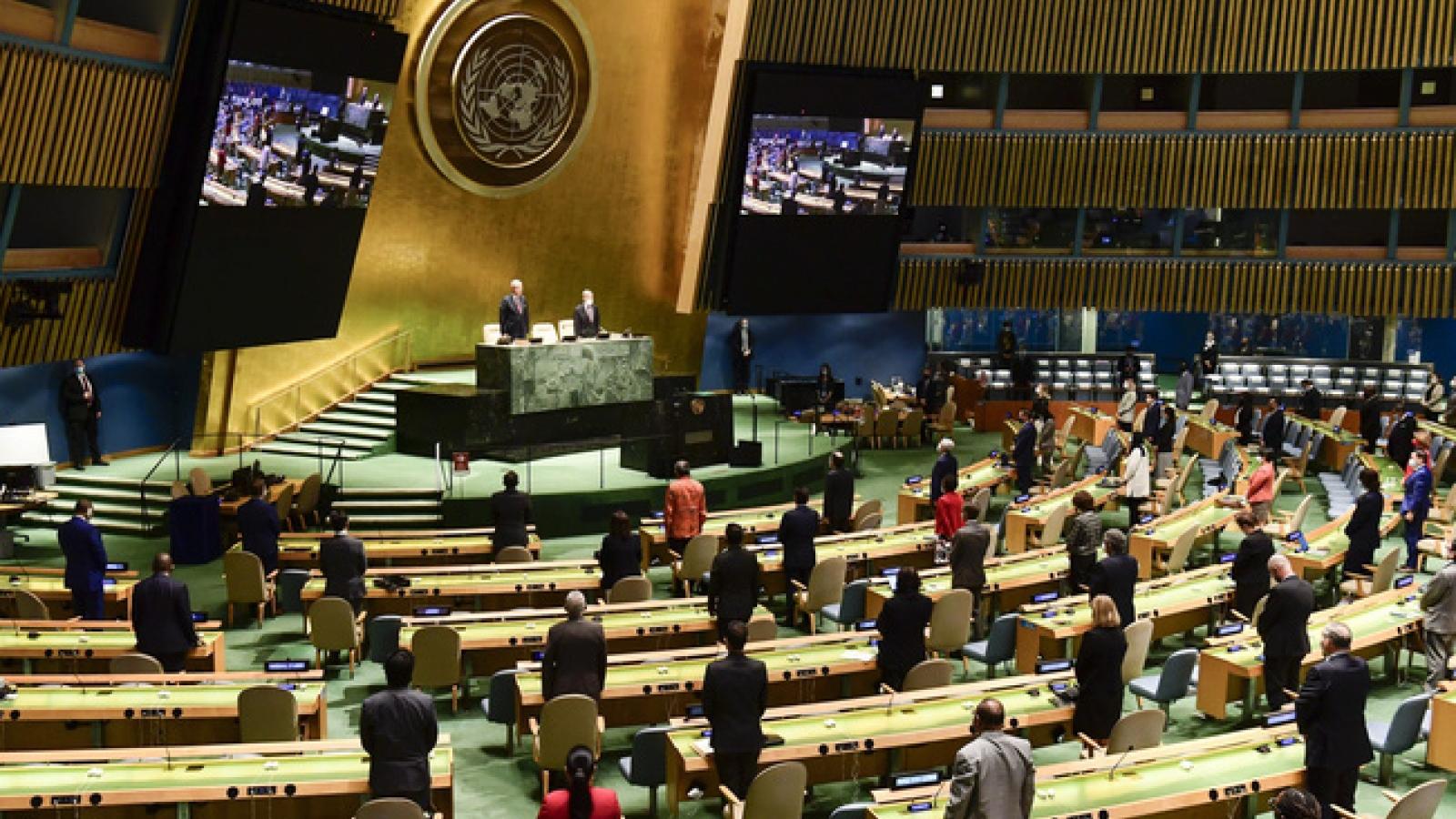 Khai mạc tuần lễ cấp cao khóa 75 Đại hội đồng Liên Hợp Quốc