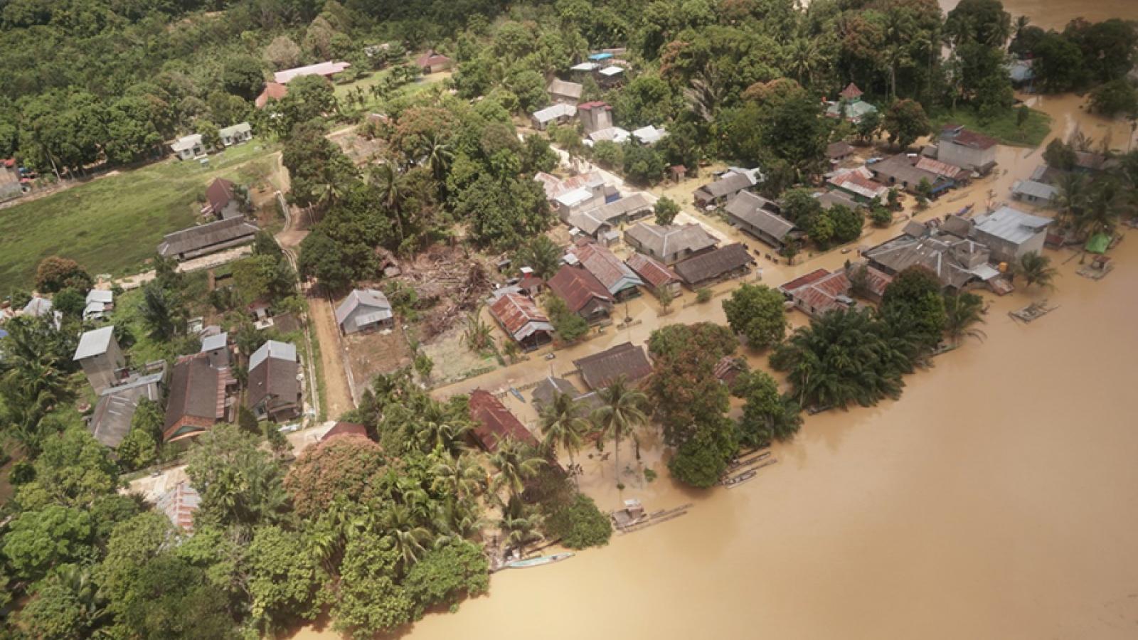 Indonesia đối phó với các thảm họa thủy văn trong bối cảnh Covid-19