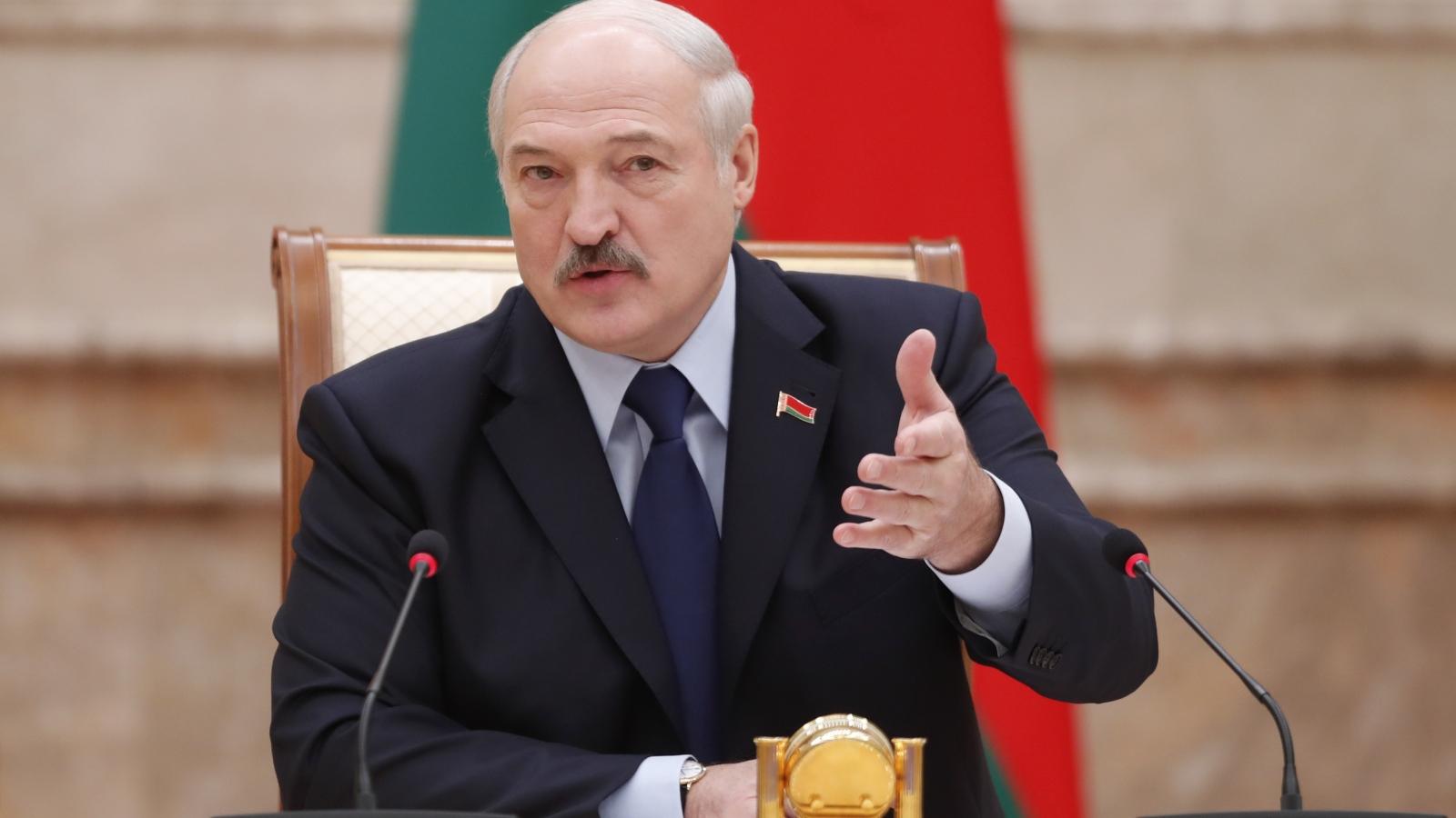Tổng thống Lukashenko: Belarus không cần các nước khác công nhận kết quả bầu cử