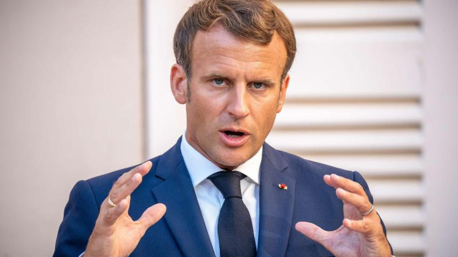 Tổng thống Pháp Emmanuel Macron lần đầu thăm Iraq