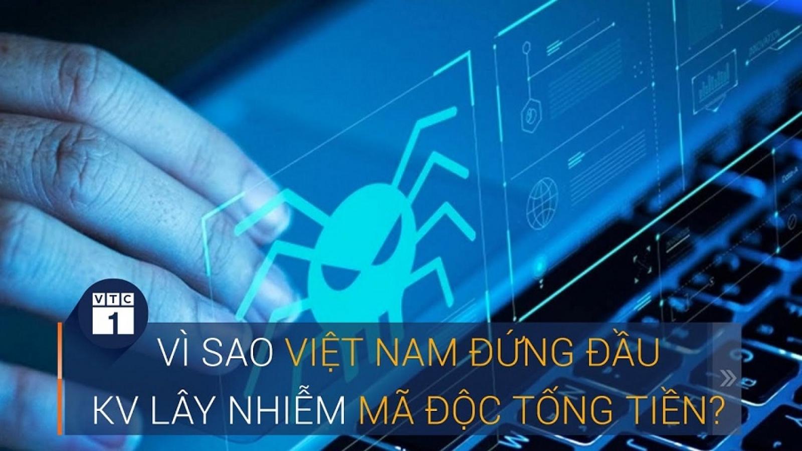 Việt Nam đứng đầu khu vực lây nhiễm mã độc tống tiền