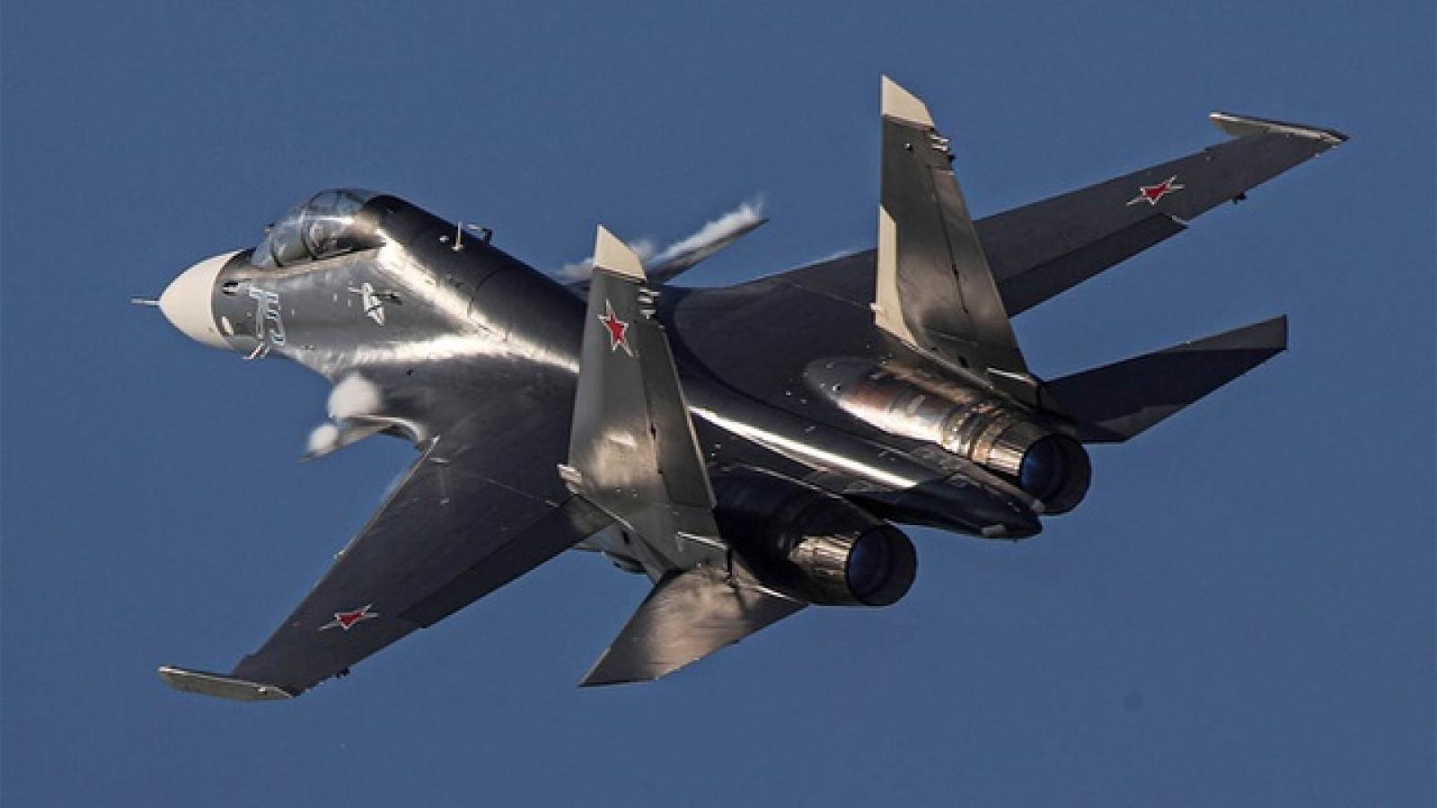 Tiêm kích Su-30 của Nga rơi do bị đồng đội bắn nhầm khi tập trận