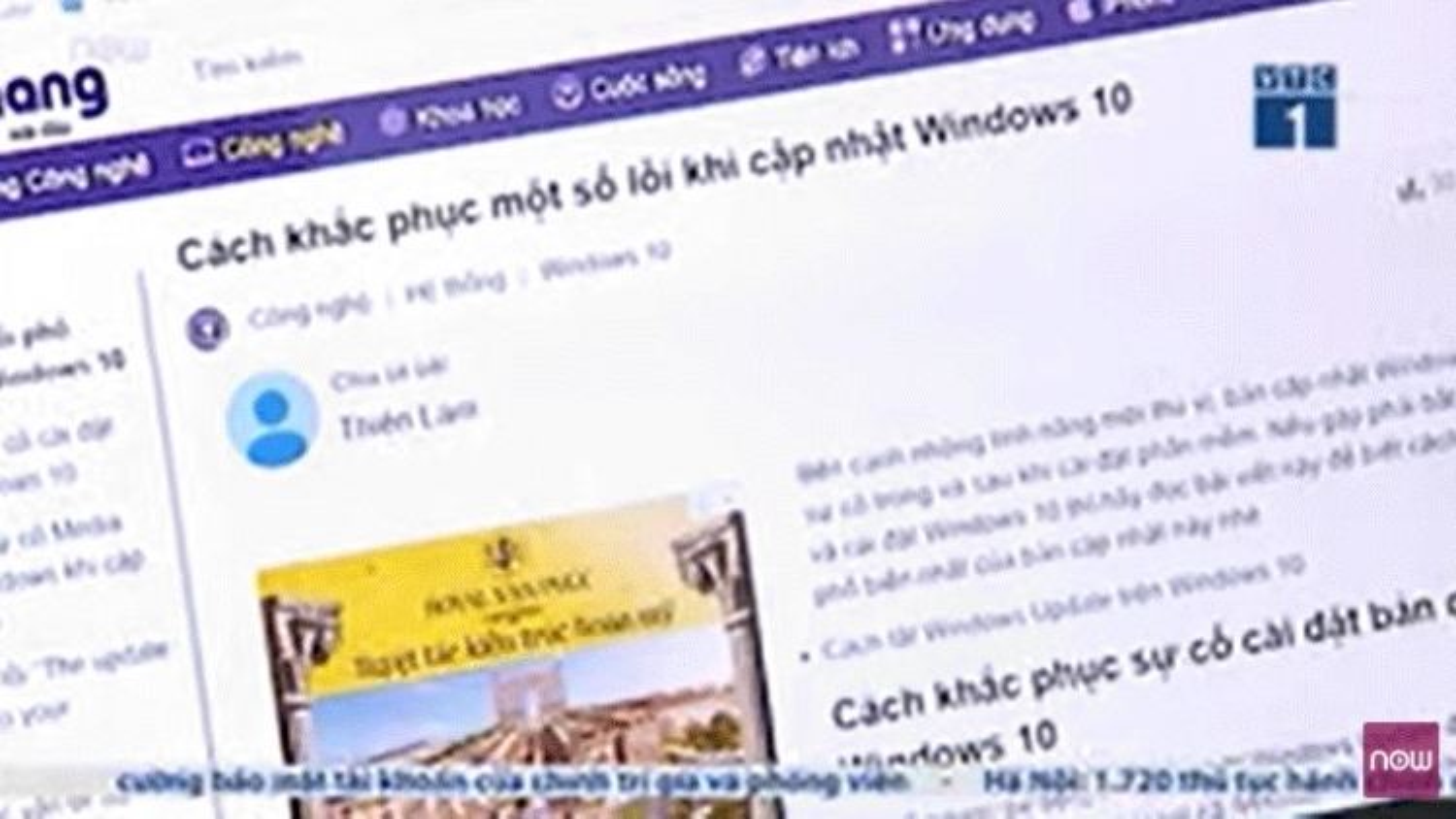 Windows 10 gây thất vọng với bản cập nhật mới