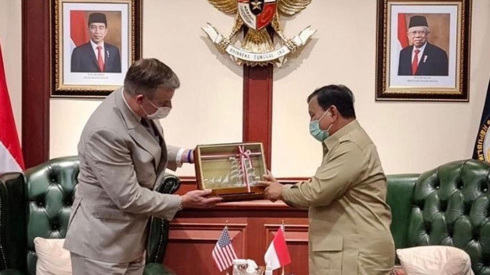 Indonesia và Mỹ tăng cường hợp tác quốc phòng, bàn về vấn đề Biển Đông