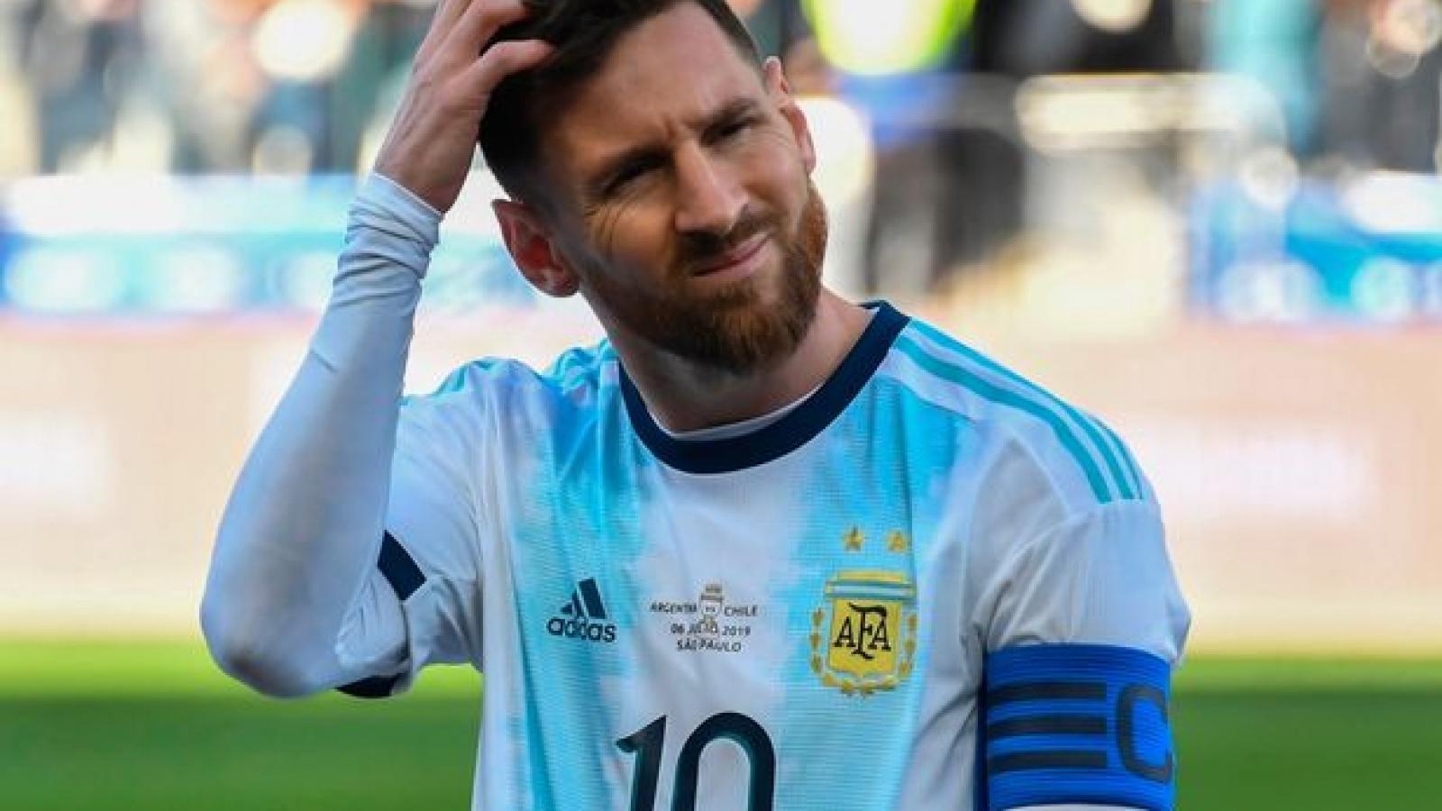 Messi nguy cơ lỡ trận El Clasico mùa giải 2020/2021