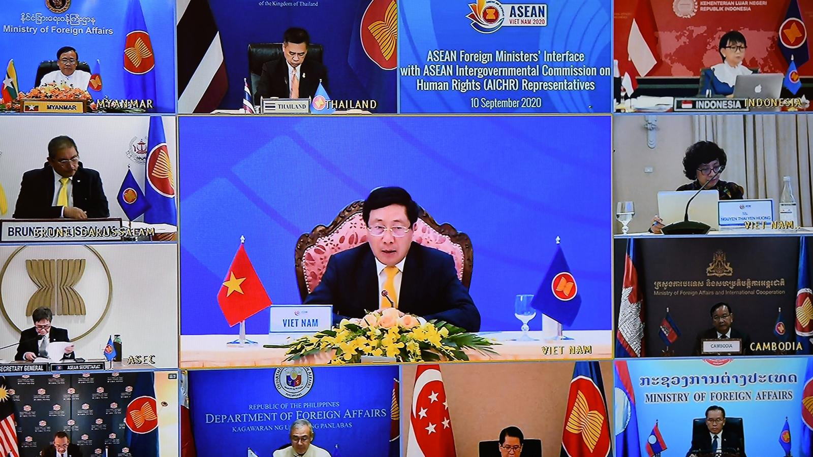 Sự hài lòng của người dân là thước đo cao nhất đánh giá các mục tiêu nhân quyền của ASEAN