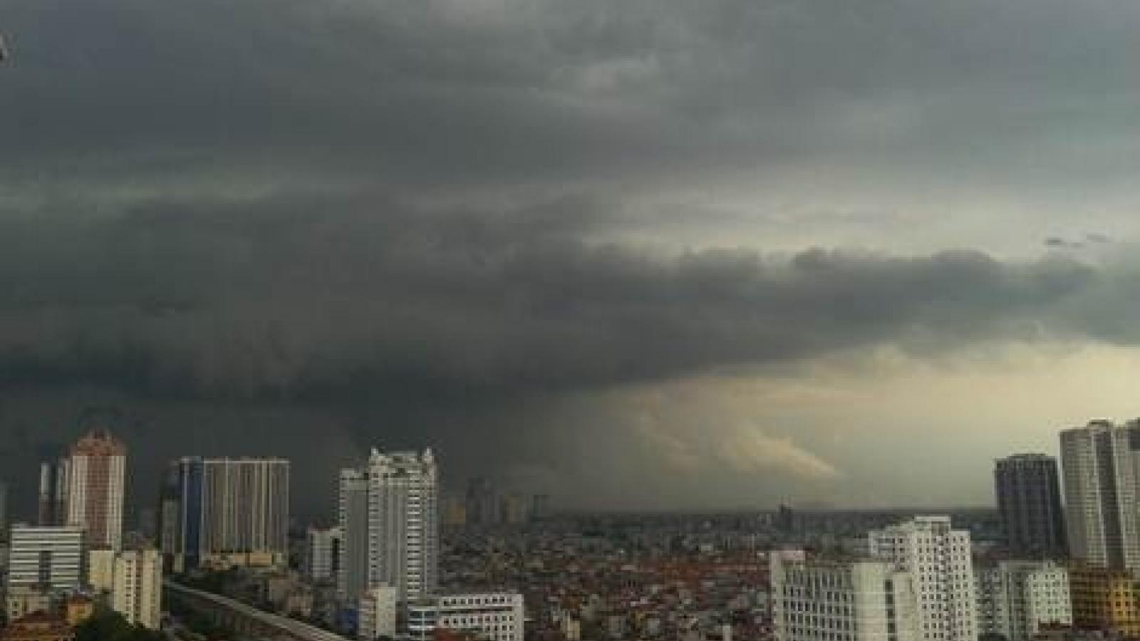 Dự báo thời tiết hôm nay: Cảnh báo mưa dông ở khu vực nội thành Hà Nội