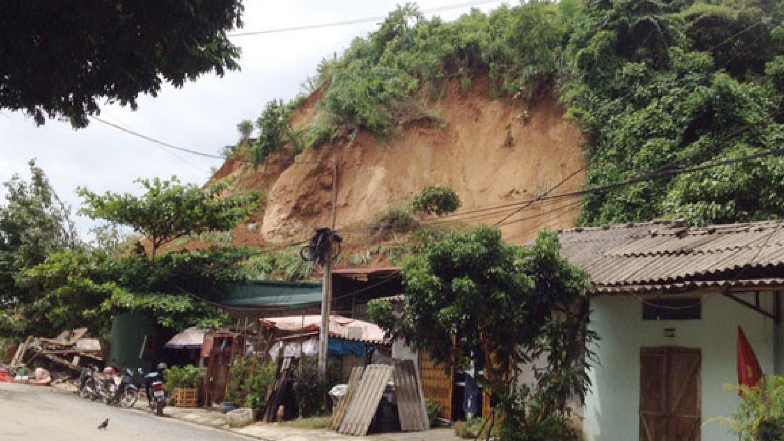 Mưa lớn ở Lào Cai gây thiệt hại