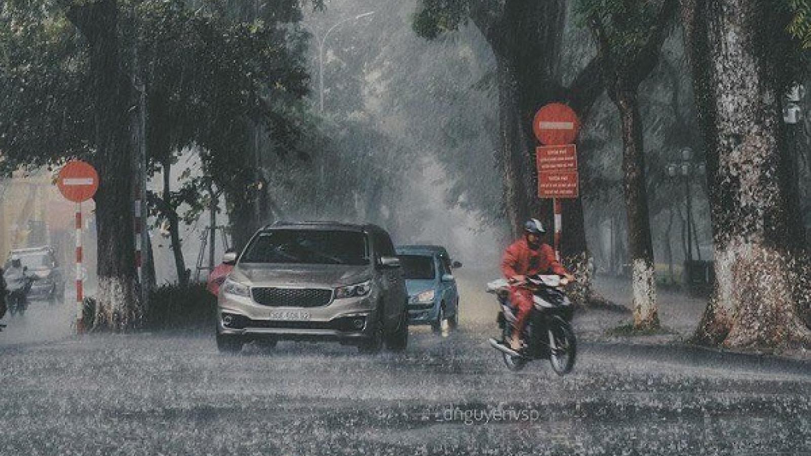 Thời tiết ngày 25/9: Nhiều nơi có mưa rào và dông
