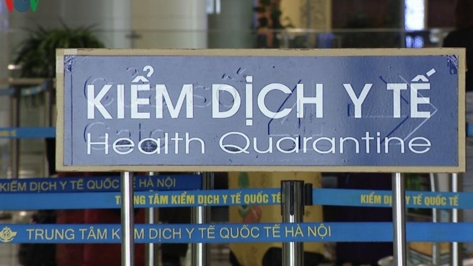 Việt Nam có thêm 3 ca mắc COVID-19 nhập cảnh là người Trung Quốc và Ấn Độ