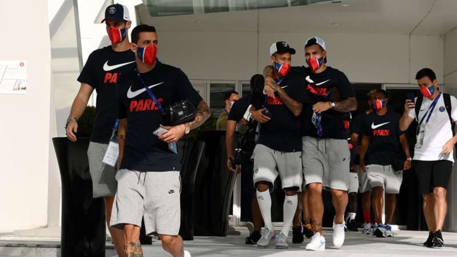 PSG nhận tin dữ, Neymar và Di Maria mắc Covid-19