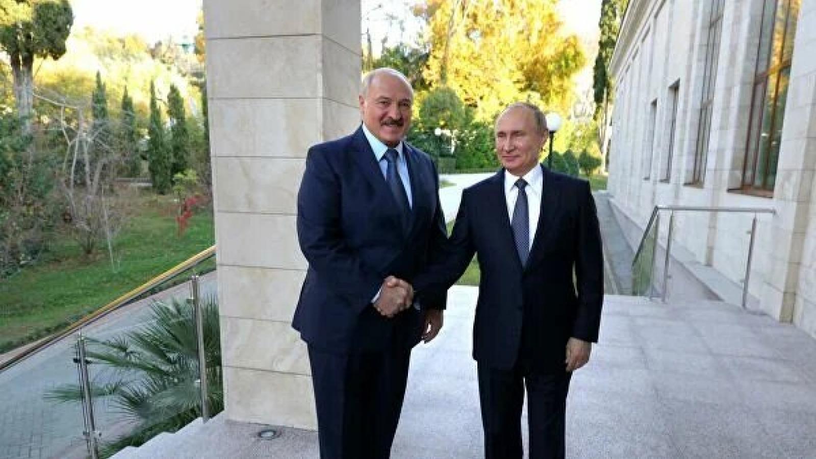 Tổng thống Vladimir Putin sẽ gặp nhà lãnh đạo Belarus A.Lukashenko ở Sochi