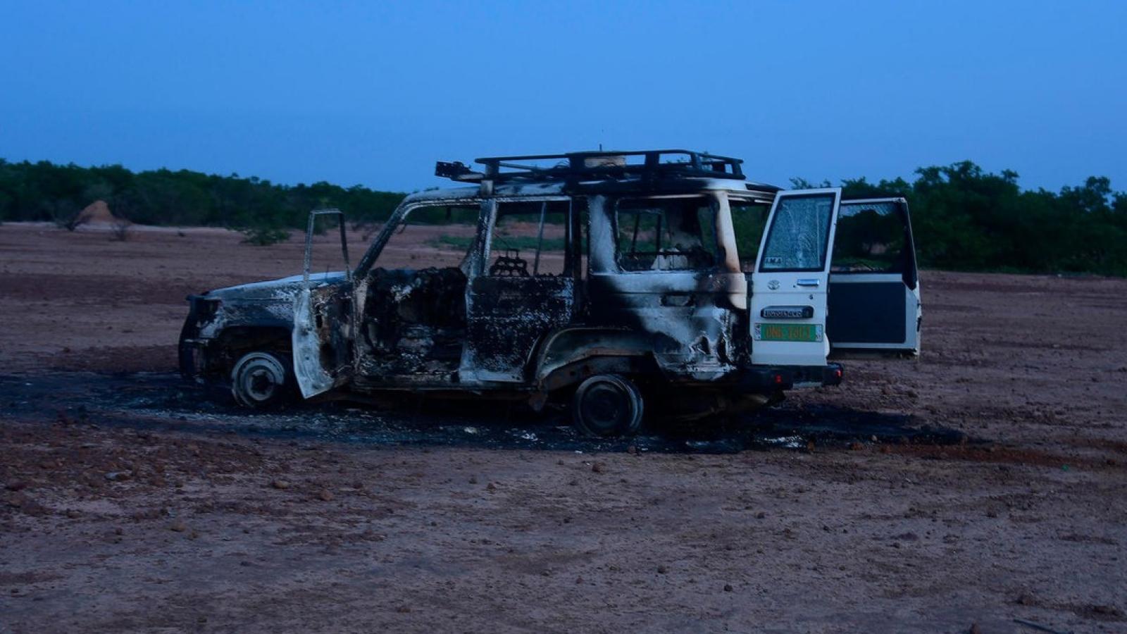 Tổ chức IS nhận trách nhiệm về vụ sát hại 6 người Pháp tại Niger