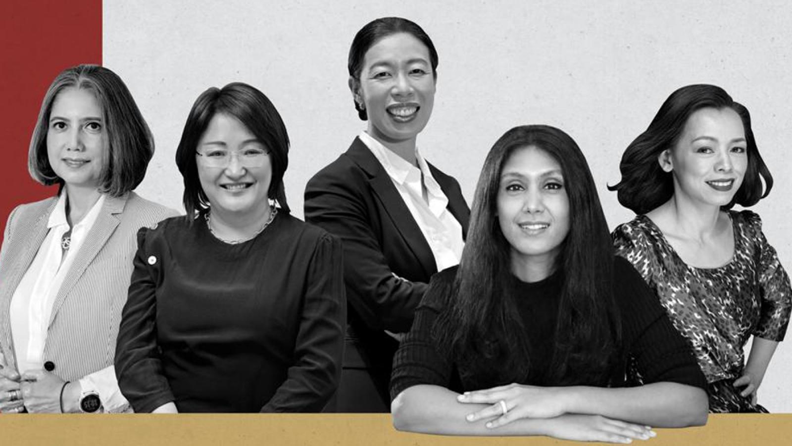 """Hai """"nữ tướng"""" Việt lọt top 25 nữ doanh nhân quyền lực nhất châu Á 2020"""
