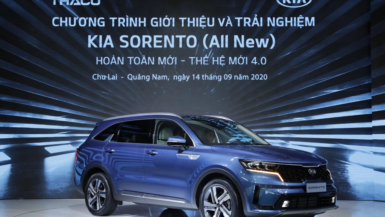 Mẫu xe Sorento thế hệ mới – thế hệ sản phẩm mới nhất của thương hiệu Kia
