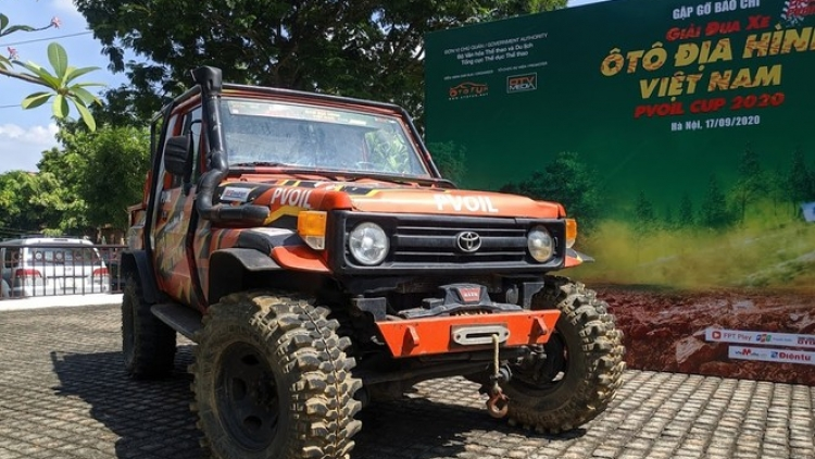 Vietnam Offroad PVOIL Cup 2020 to be held in Hanoi