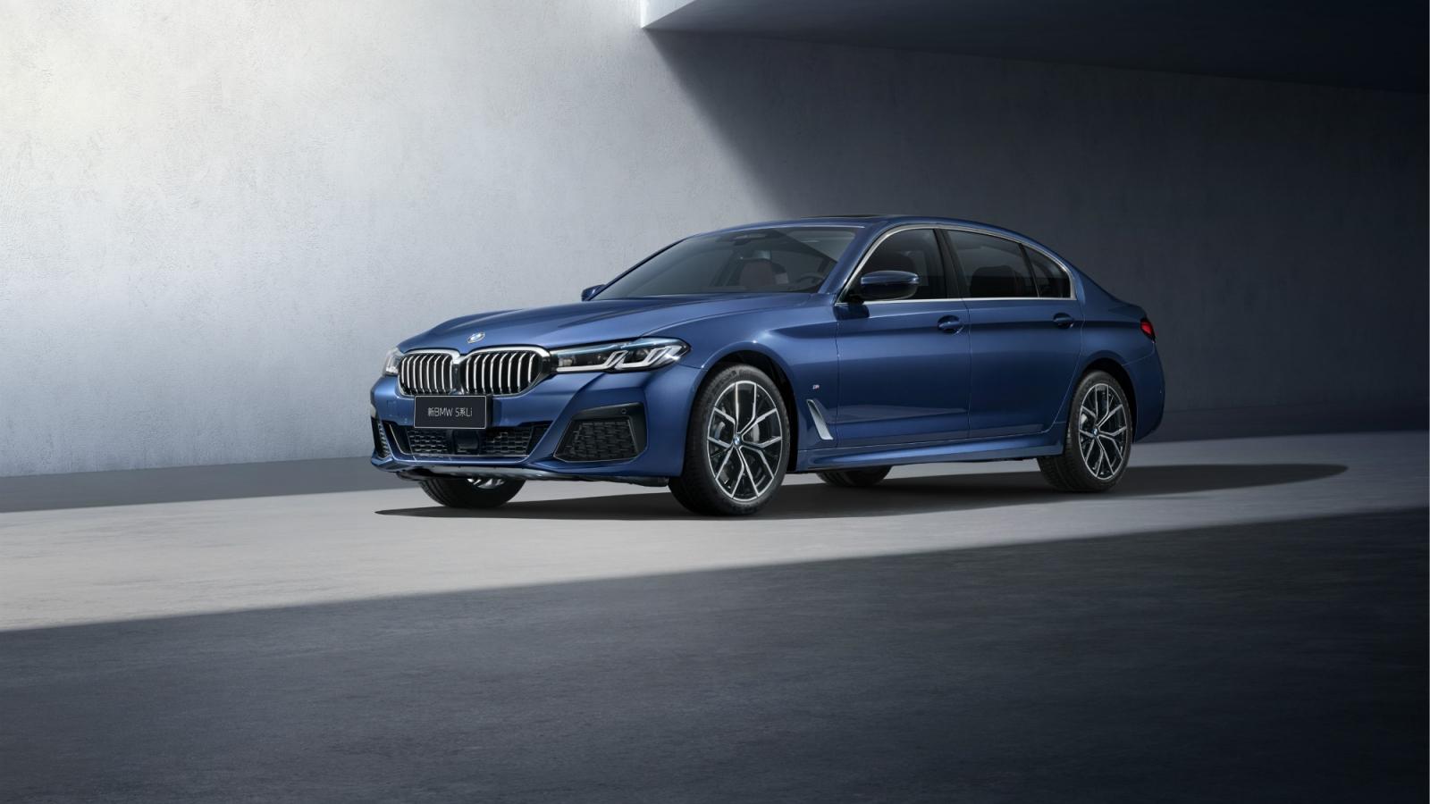 BMW 5-Series 2021 cho Trung Quốc dài và sang trọng hơn