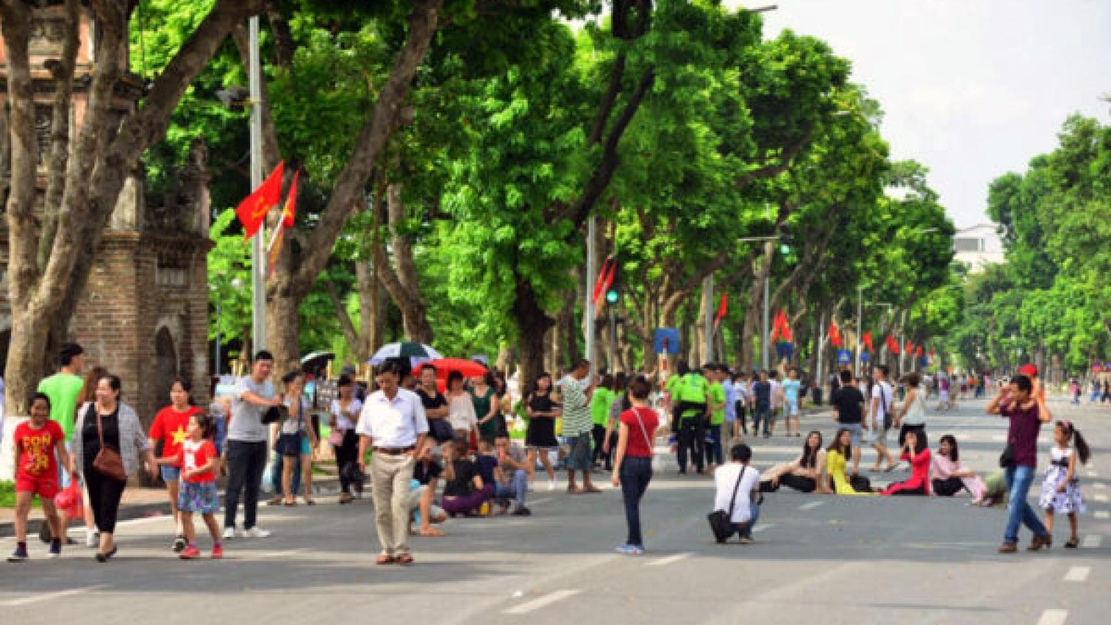 Hanoi to welcome return of pedestrian streets on September 18