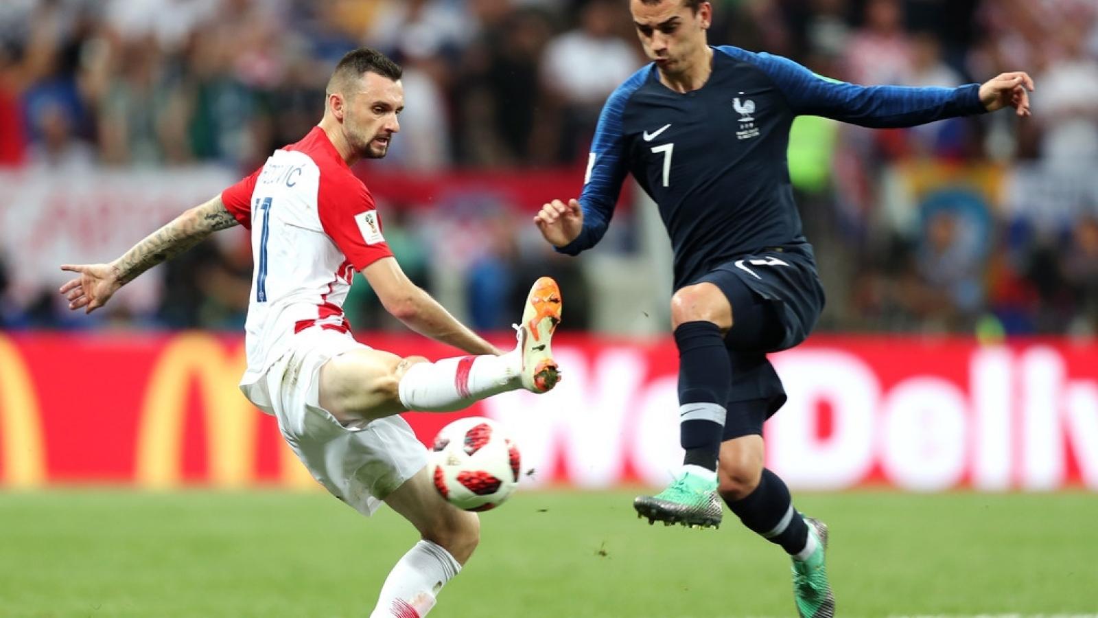 Pháp - Croatia: Tái hiện trận chung kết World Cup 2018