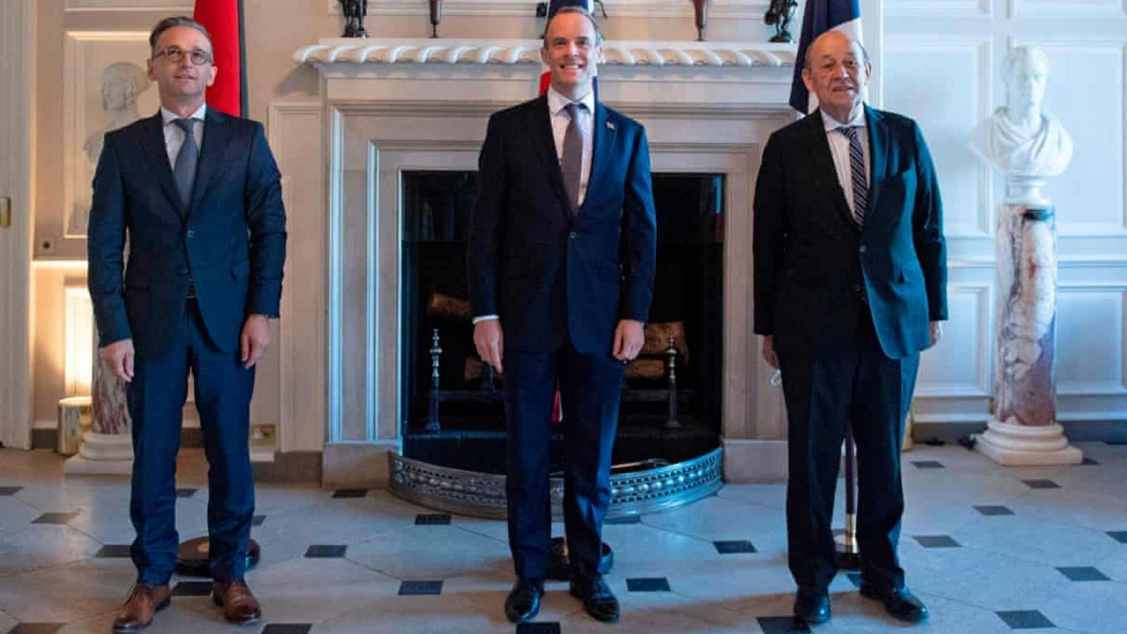 Anh–Pháp-Đức tiếp tục bác ý định tái trừng phạt Iran của Mỹ