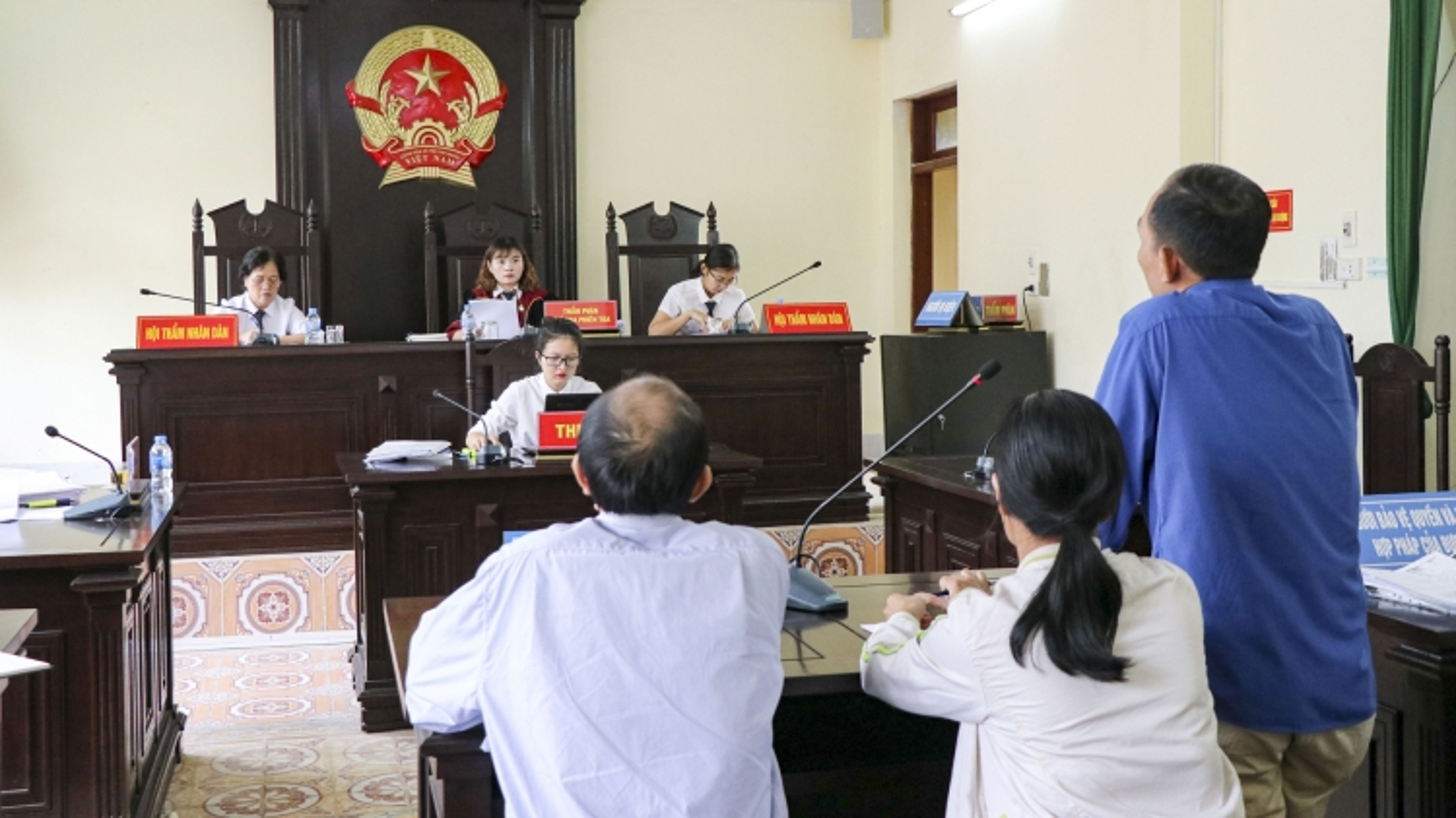 Phiên tòa xét xử việc bồi thường cho gia đình chịu án oan 28 năm ở Điện Biên