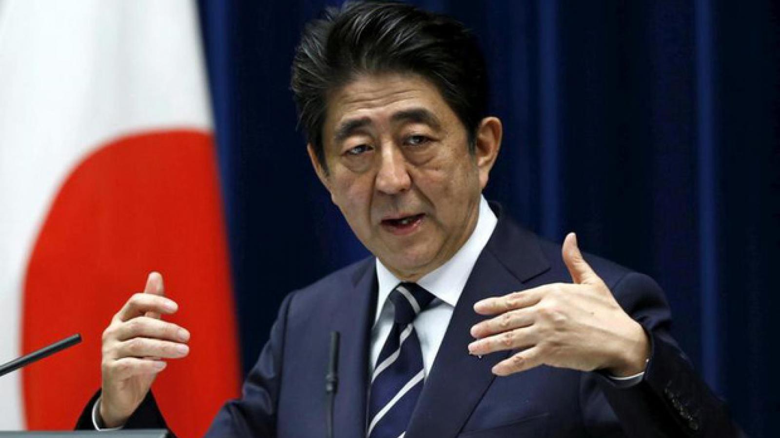 Thủ tướng Nhật Bản Abe Shinzo chính thức từ nhiệm