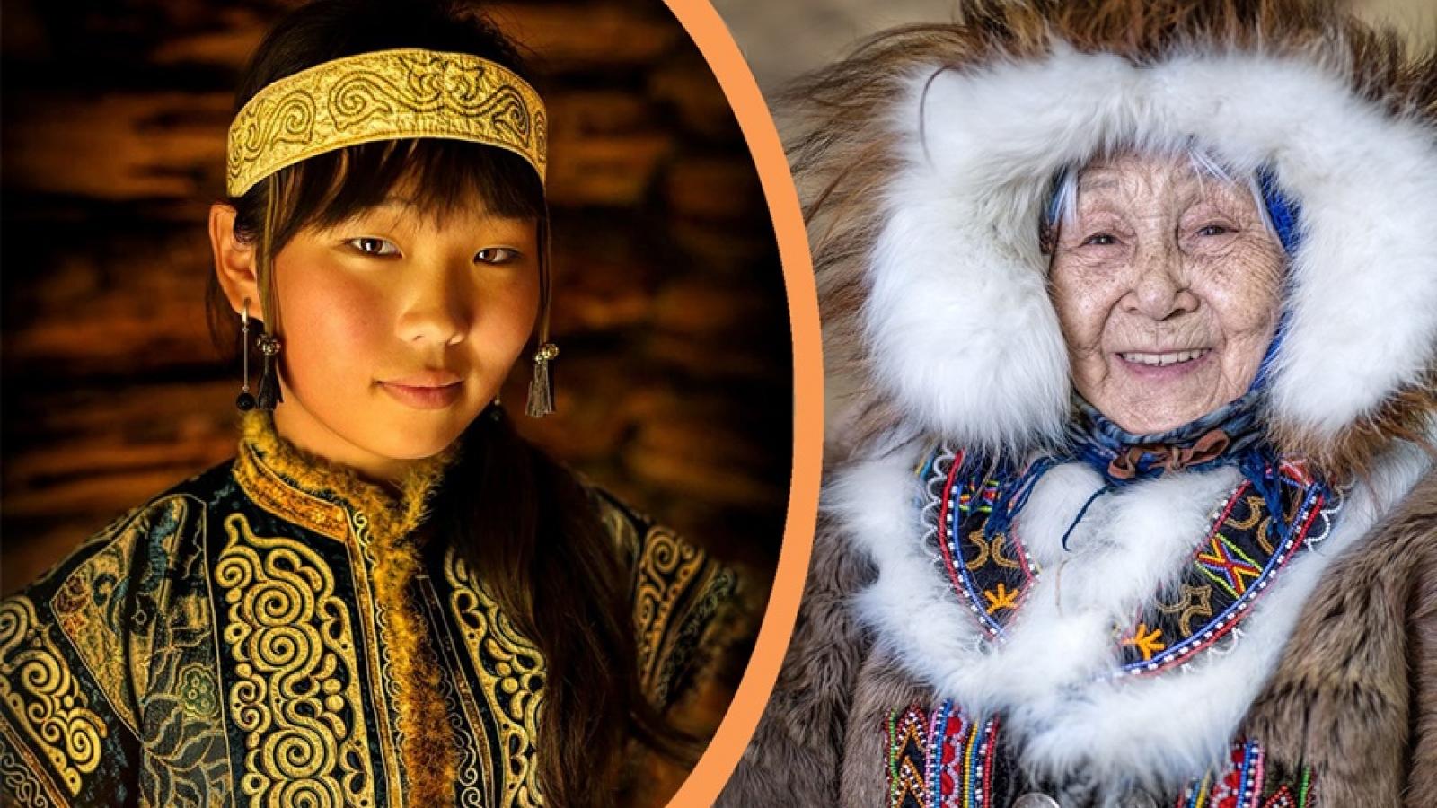 Ảnh siêu đẹp về phụ nữ các dân tộc thiểu số ở Nga