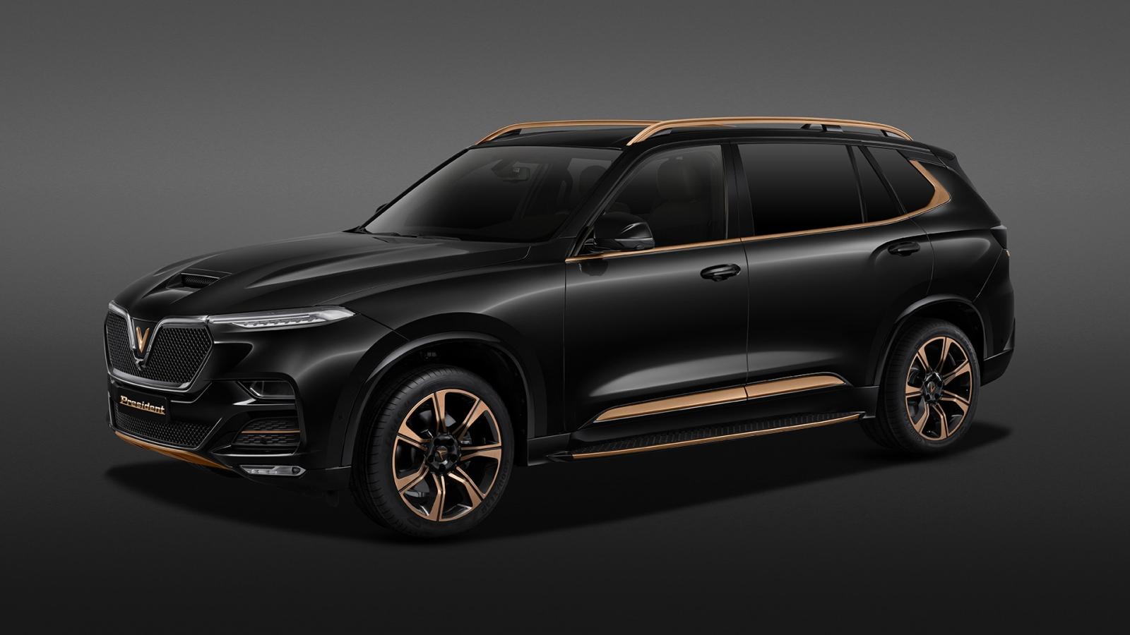 Ảnh chi tiết SUV VinFast President giá gần 5 tỷ đồng cạnh tranh cùng Lexus LX 570