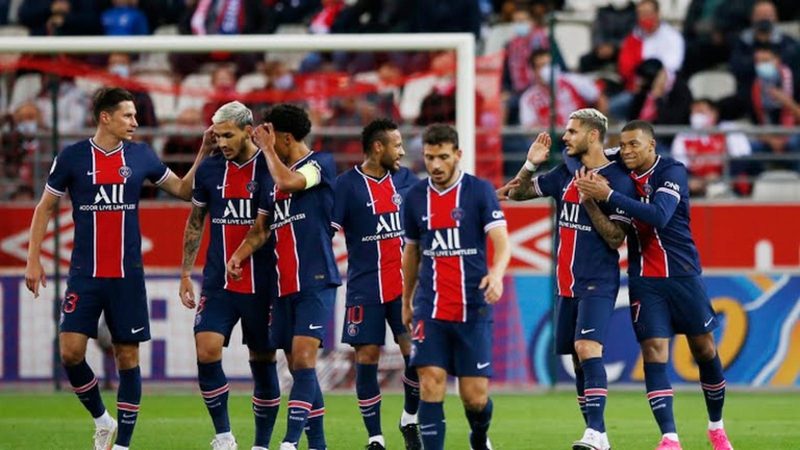 Mauro Icardi che mờ sự trở lại của Neymar trong đội hình PSG