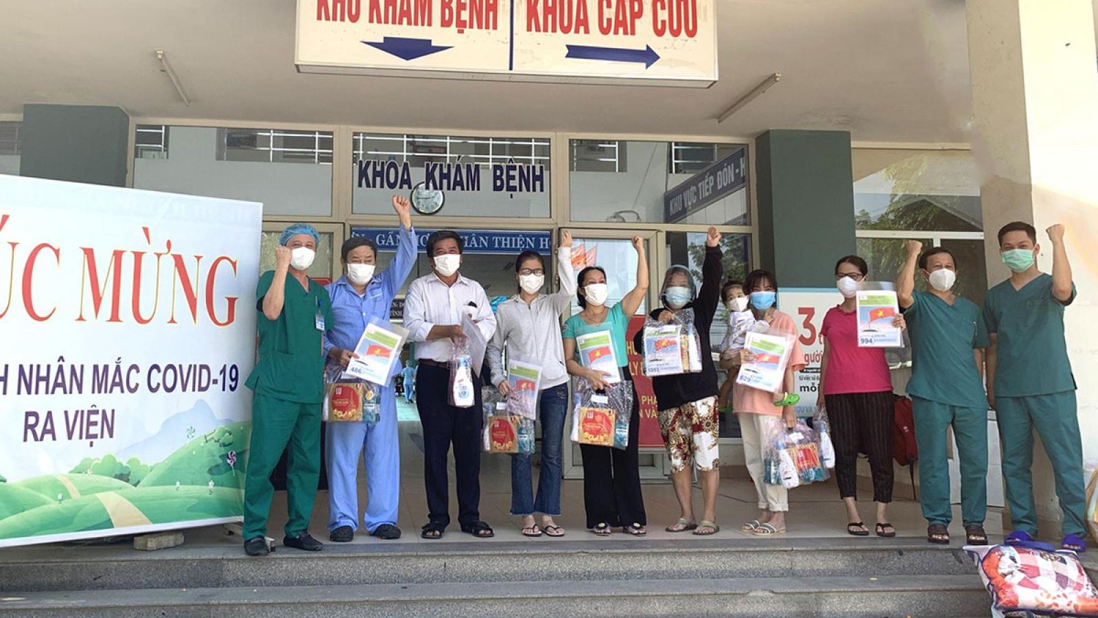Thêm 15 bệnh nhân khỏi Covid-19 ở Đà Nẵngra viện