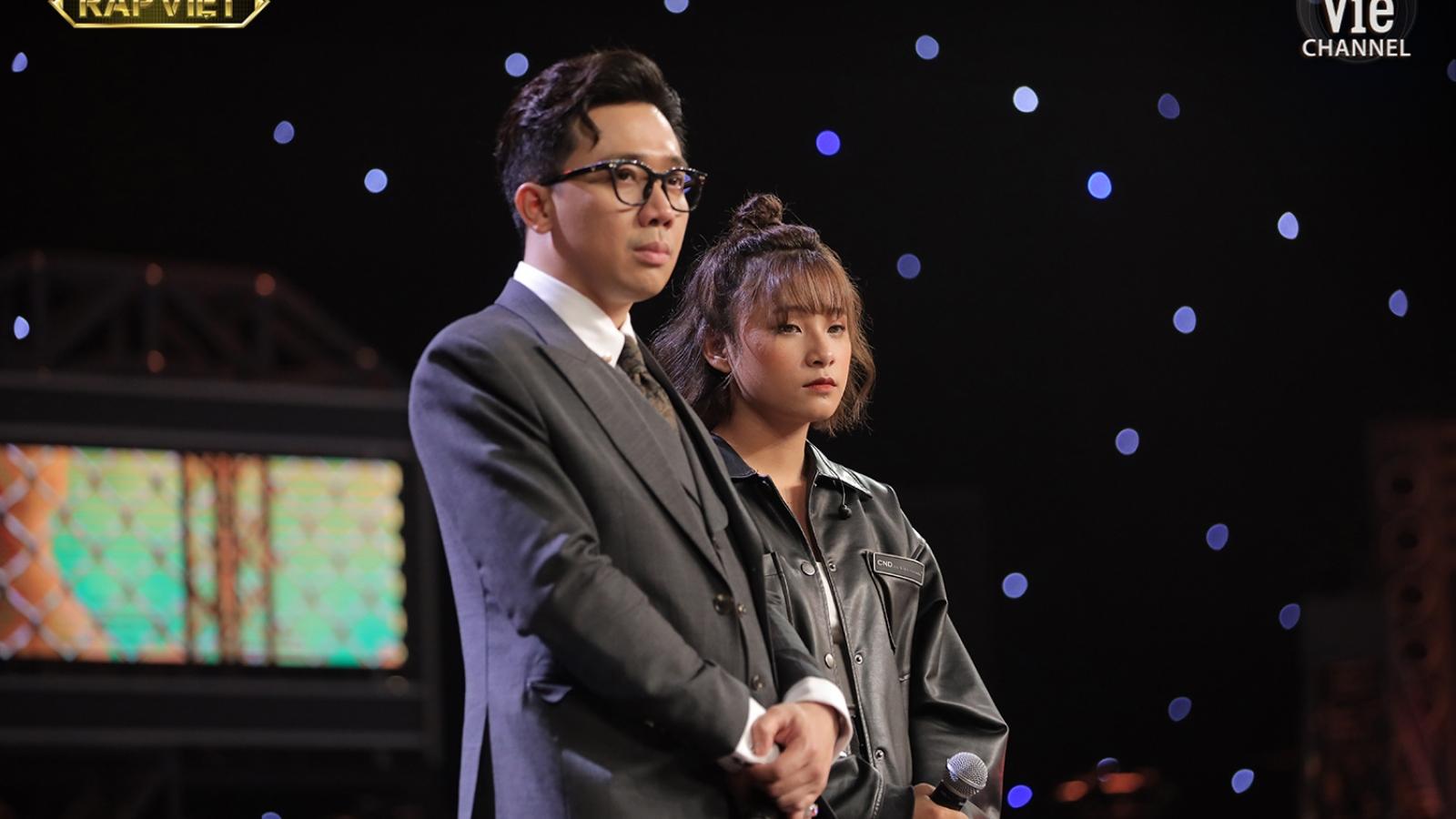 Trấn Thành, Suboi rơi nước mắt vì cô bé 17 tuổi với bản rap viết về mẹ