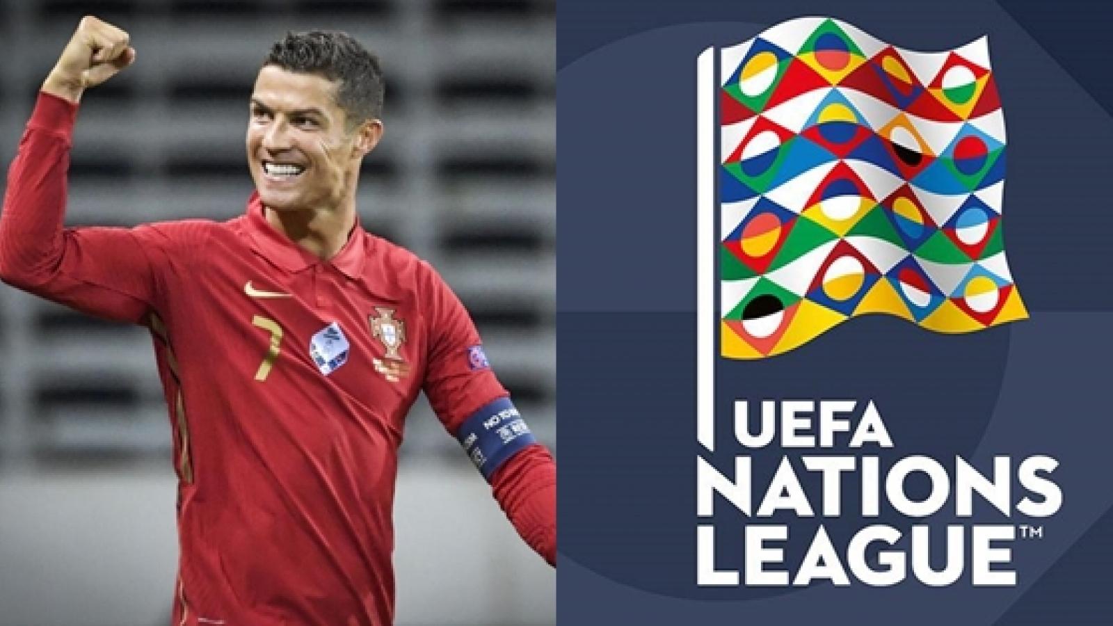 Cristiano Ronaldo và đội hình xuất sắc nhất UEFA Nations League tuần này