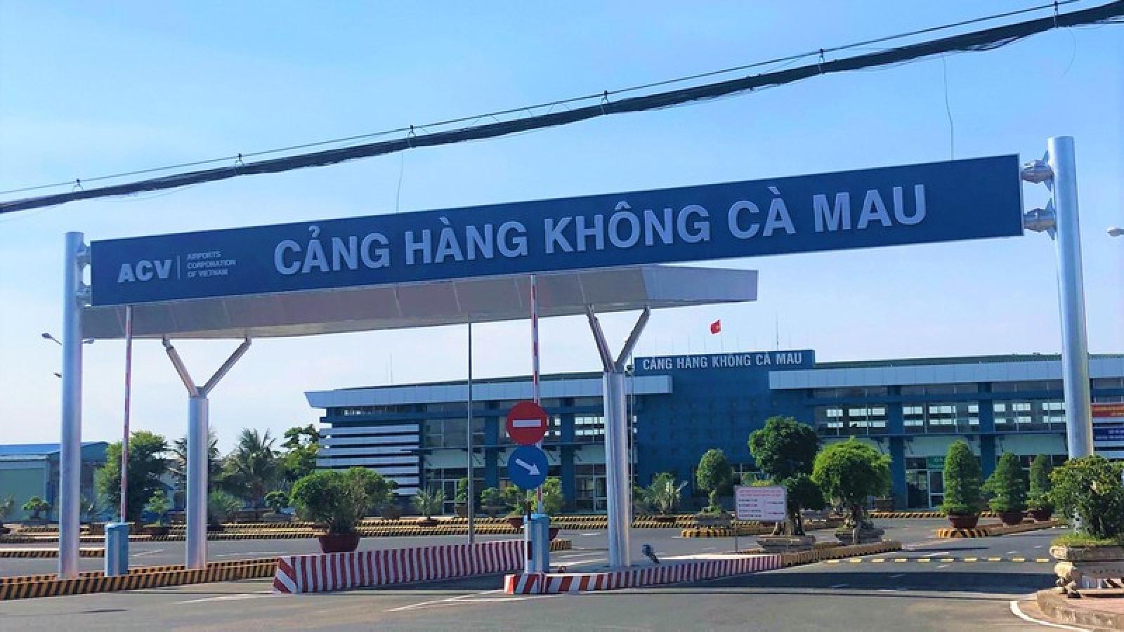 Cà Mau kiến nghị Bộ Quốc phòng có ý kiến để nâng cấp sân bay