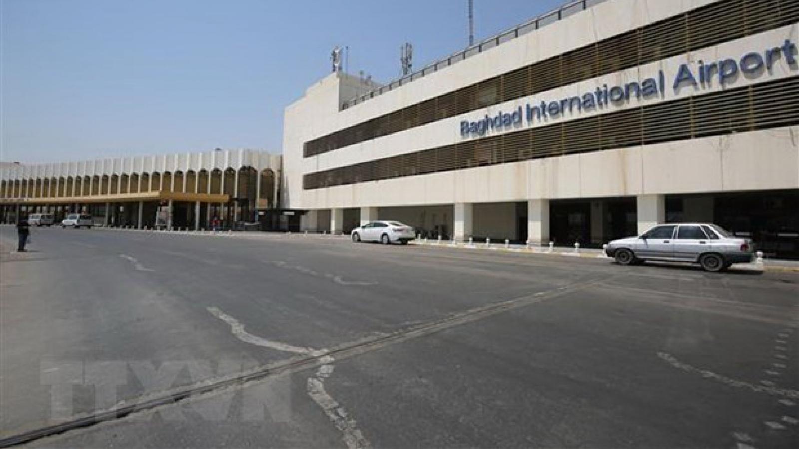 Mỹ tức giận trước các cuộc tấn công ở thủ đô của Iraq