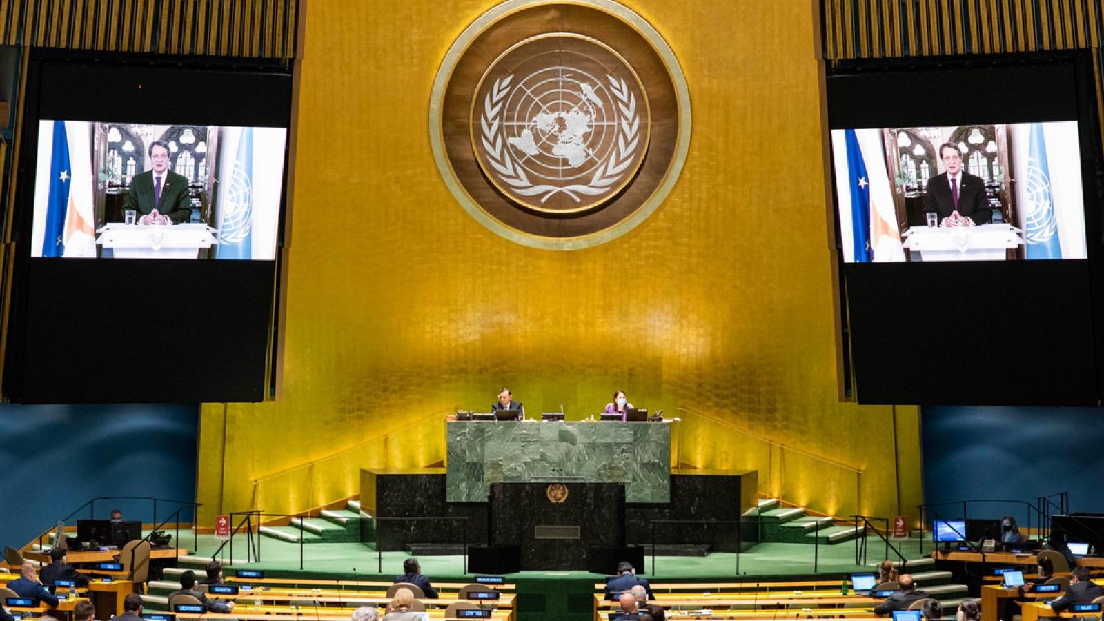 Cộng hòa Síp cam kết nối lại các cuộc đàm phán hòa bình