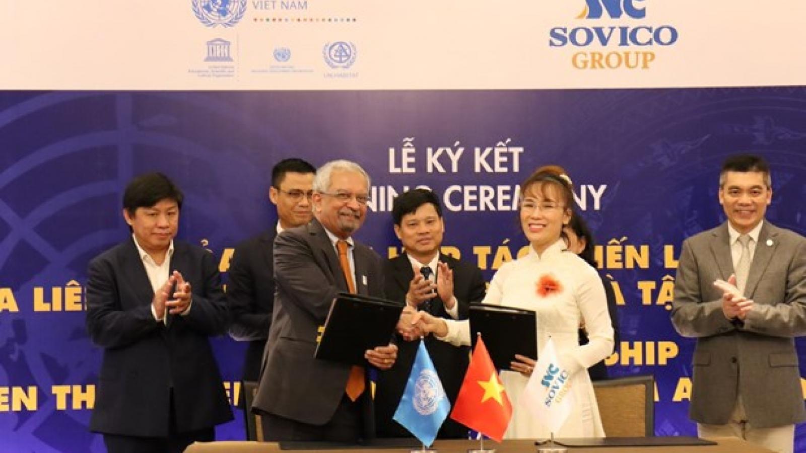 SOVICO Group becomes UN's strategic partner