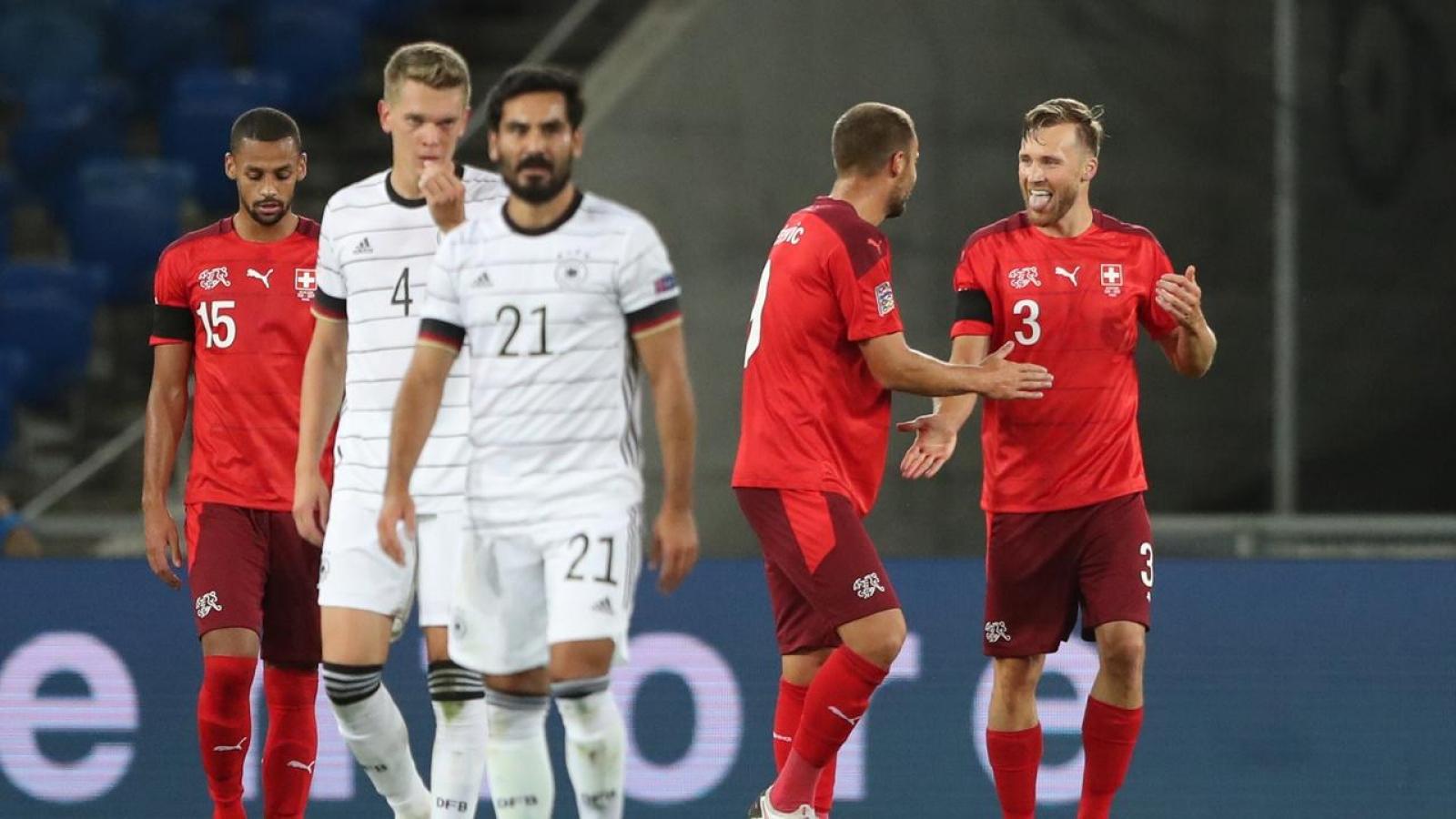 Bảng A4 Nations League: Bị Thụy Sĩ cầm hòa, ĐT Đức lâm nguy