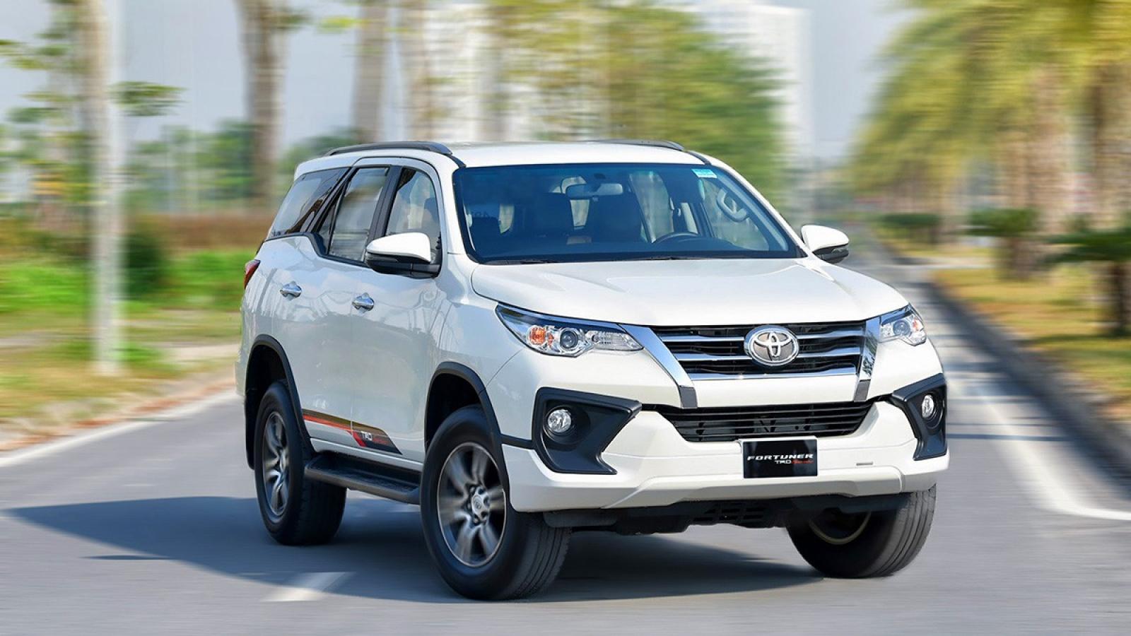 Gần 200 xe Toyota Fortuner phải triệu hồi do lỗi ống chân không bầu trợ lực phanh