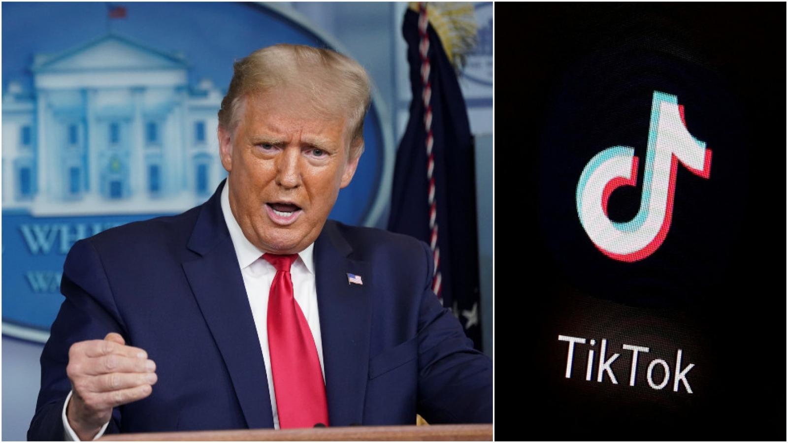 Hạn chót cận kề, Trump tuyên bố không gia hạn cho Tik Tok