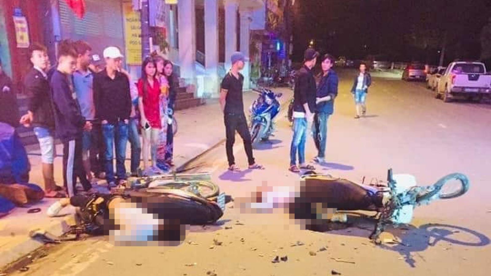 Tai nạn nghiêm trọng trong đêm ở Sa Pa, 2 nam thanh niên tử vong